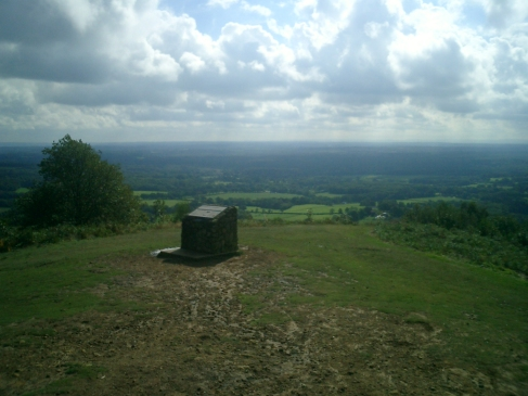 Leith Hill on a nice Sunday morning