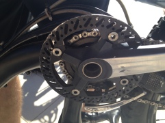 BBG Bashguard to protect chainrings. These are sstrong, light and very cheap (about 20 USD).
